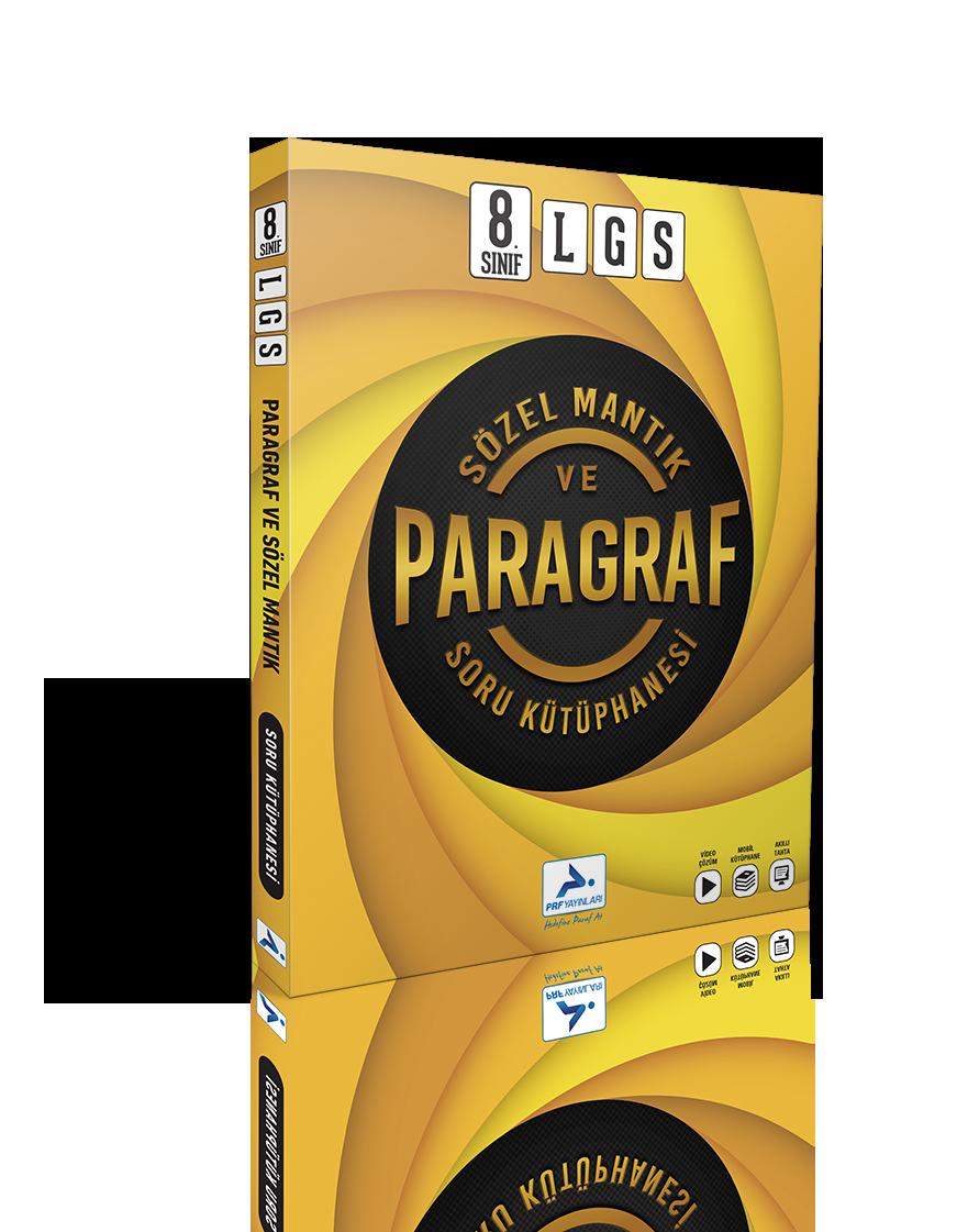 8. Sınıf Sözel Mantık ve Paragraf Soru Kütüphanesi