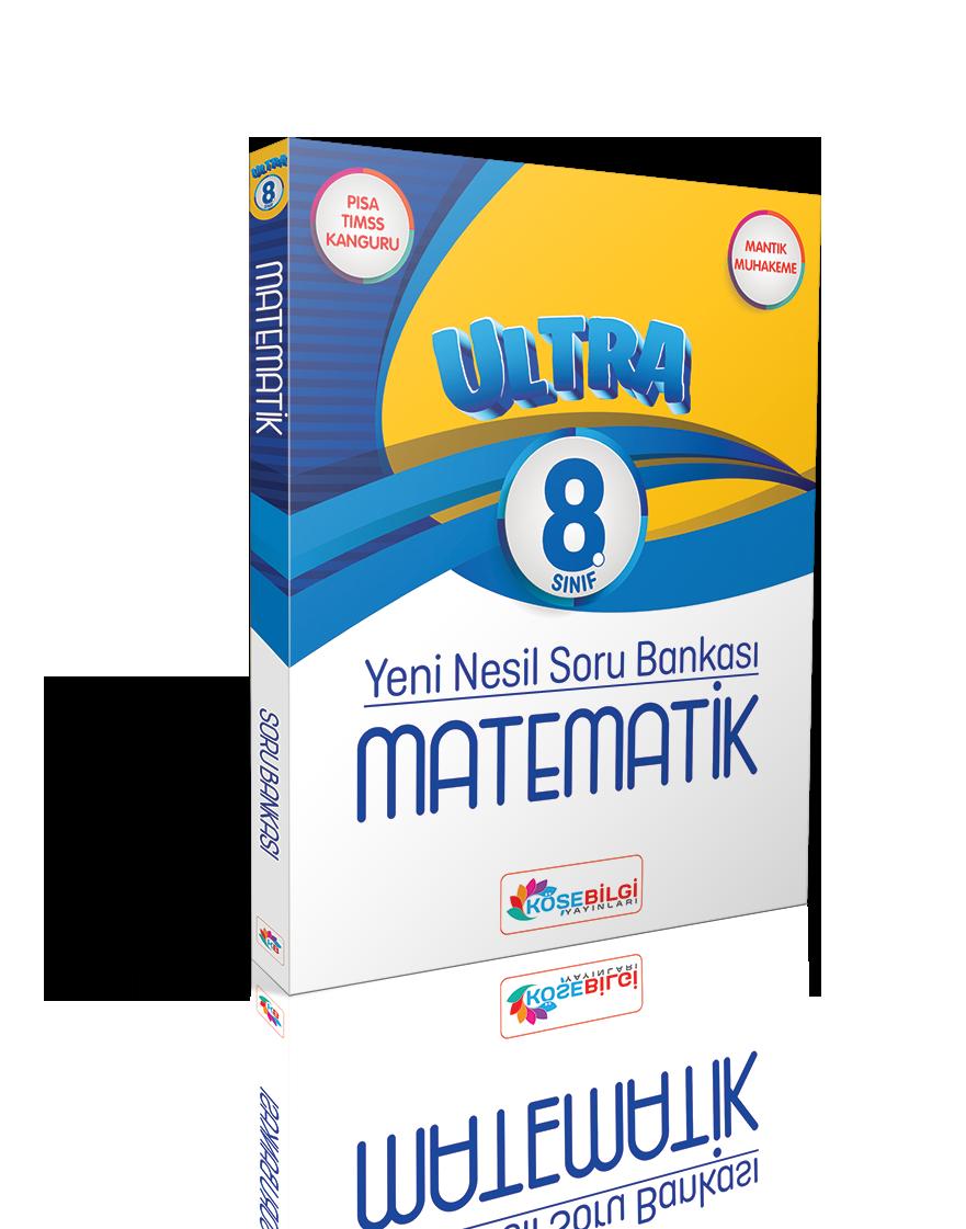 8. Sınıf Ultra Matematik Soru Bankası (Çözümsüz)