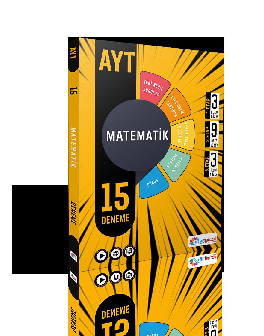 AYT 15 Matematik Branş Denemesi