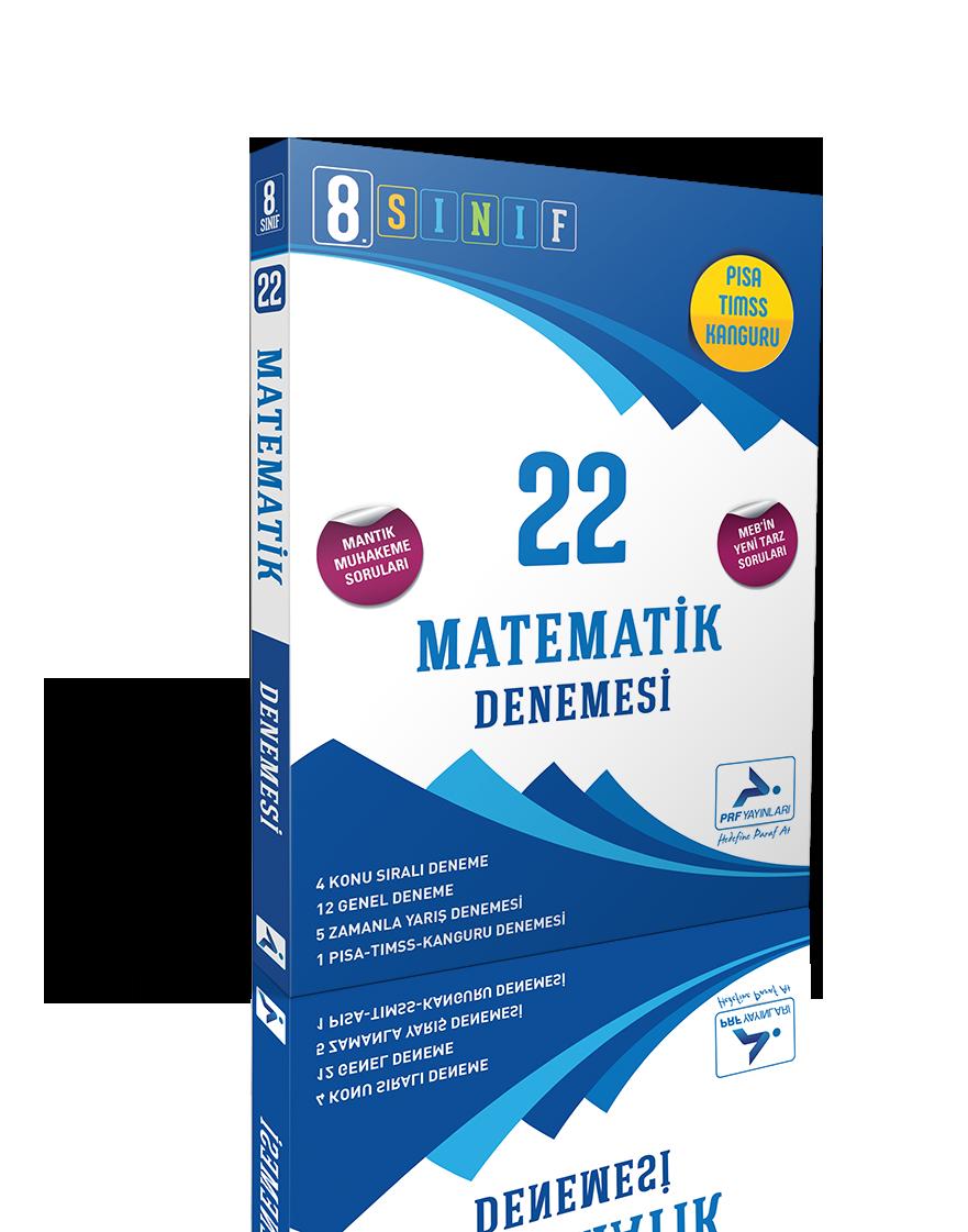 8. Sınıf Matematik 22'li Branş Denemesi