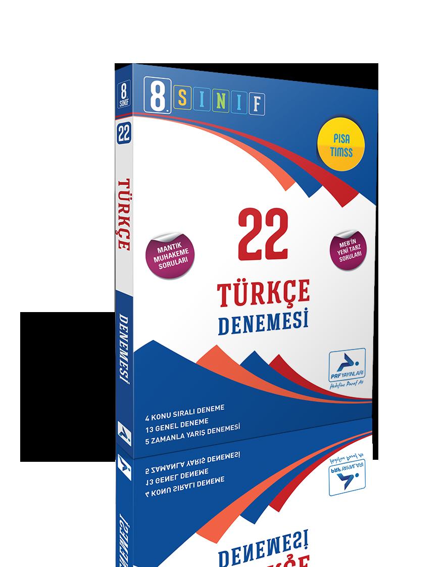 8. Sınıf Türkçe 22'li Branş Denemesi
