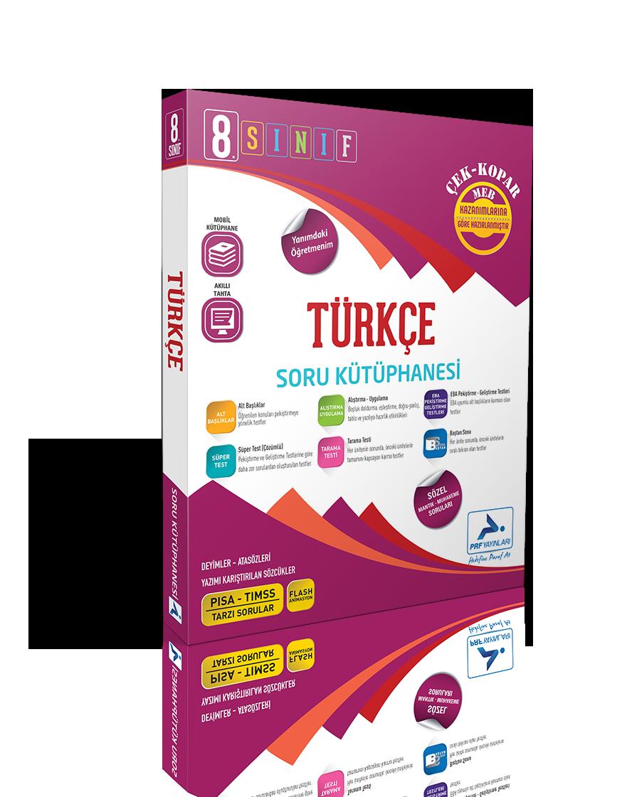 8. Sınıf Türkçe Soru Kütüphanesi
