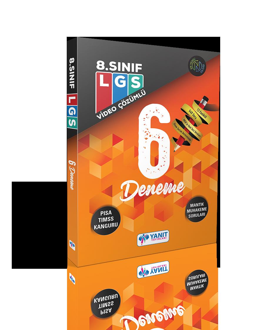 LGS 6 Fasikül Deneme Video Çözümlü