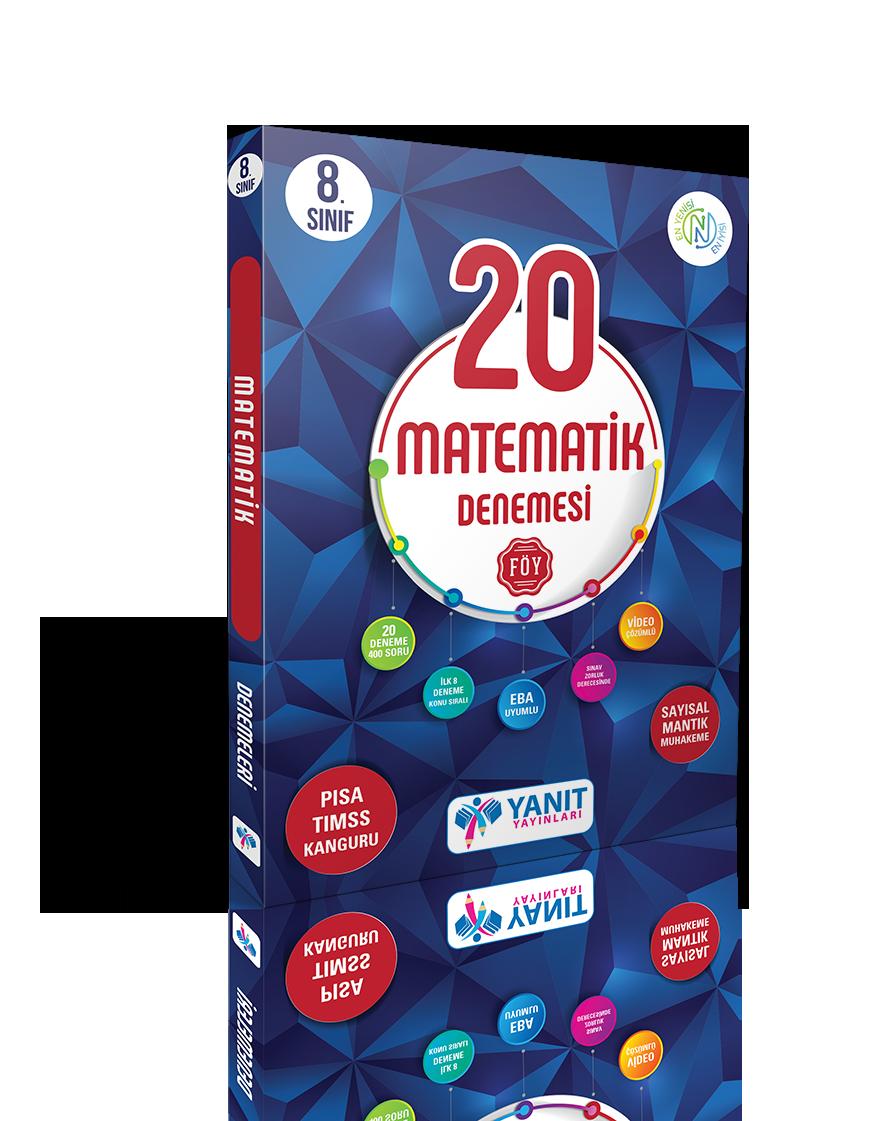 8. Sınıf Matematik 20'Li Branş Denemesi