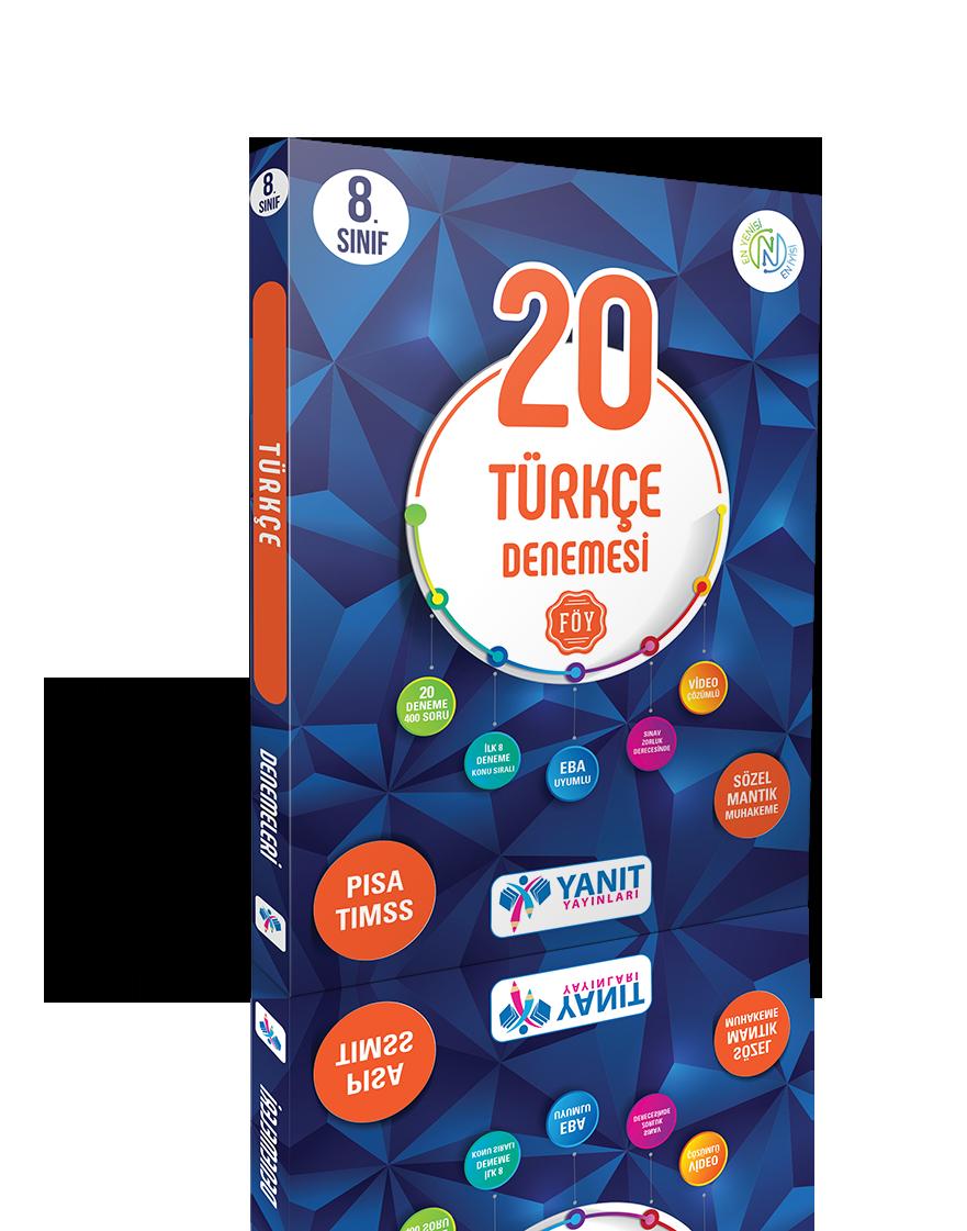 8. Sınıf 20 Türkçe Branş Denemesi
