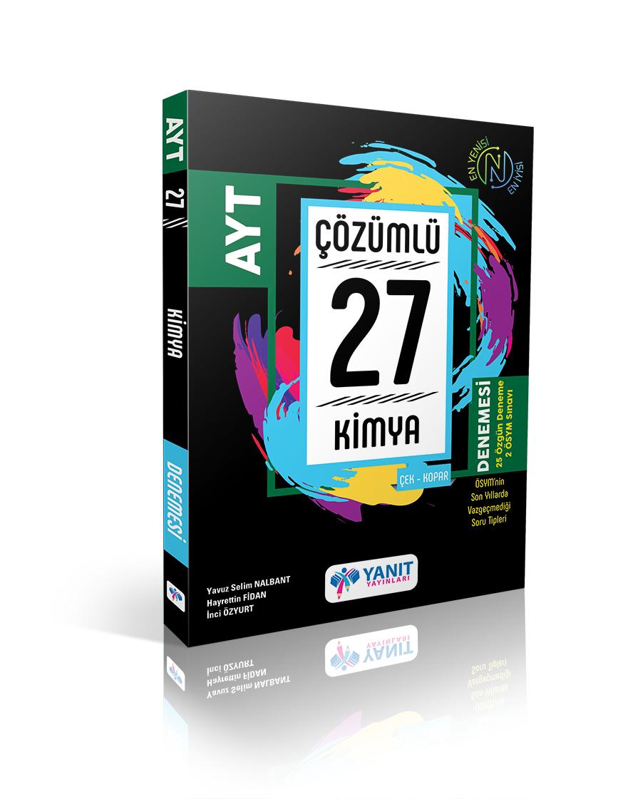 AYT Kimya 27'Li Branş Denemesi (Çözümlü)